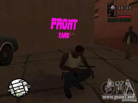 Nuevas bandas de graffiti para GTA San Andreas tercera pantalla