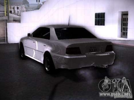 Toyota Chaser 100 para GTA San Andreas left