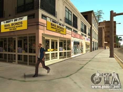 Nuevo centro de texturas Los Santos para GTA San Andreas séptima pantalla
