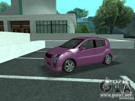 Toyota WiLL Cypha para visión interna GTA San Andreas