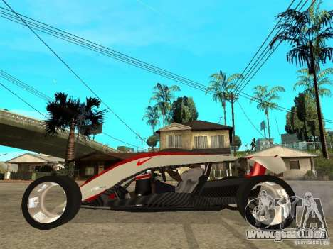 Nike One para GTA San Andreas left