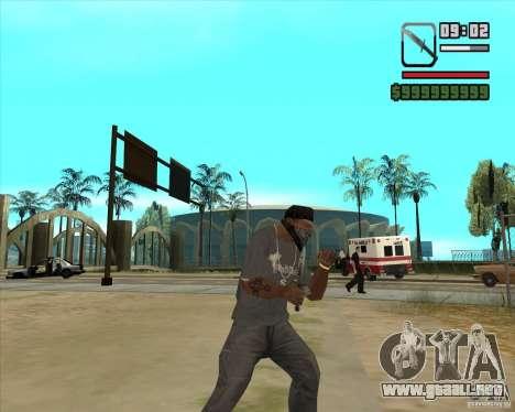 New Knife para GTA San Andreas segunda pantalla