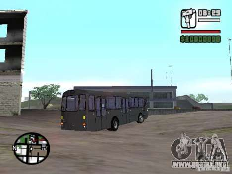 FBW Hess 91U para la visión correcta GTA San Andreas