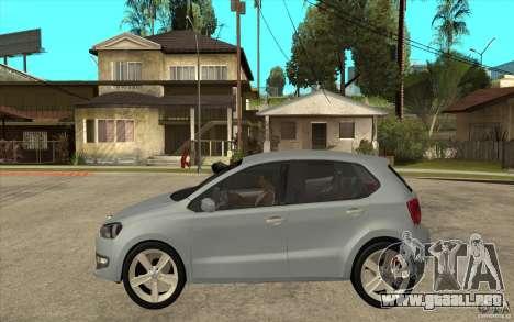 Volkswagen Polo 2011 para GTA San Andreas left