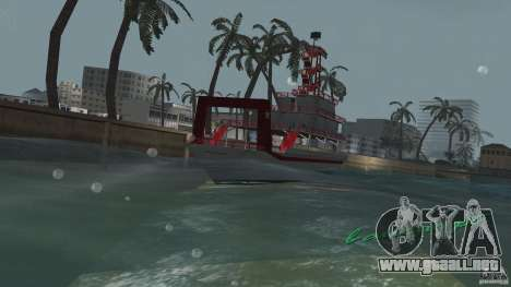 Ferry para GTA Vice City vista lateral izquierdo