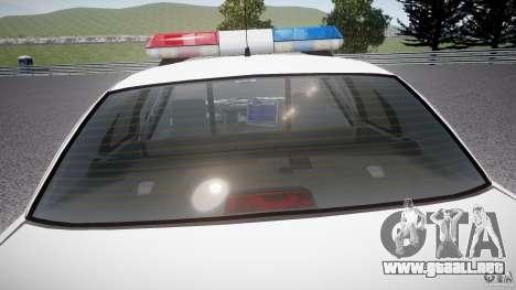 Ford Crown Victoria Karachi Traffic Police para GTA 4 interior