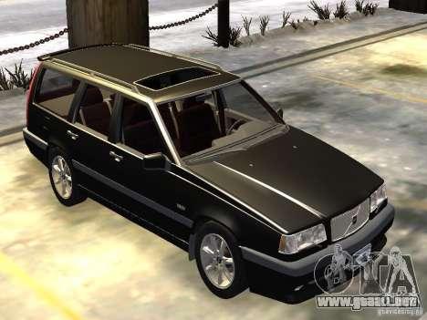 Volvo 850 R 1996 Rims 1 para GTA 4 left