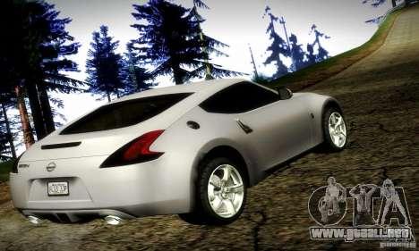 Nissan 370Z V2 para GTA San Andreas left