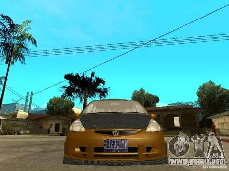 Honda Jazz Sport para la visión correcta GTA San Andreas