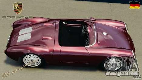 Porsche 550 A Spyder 1956 v1.0 para GTA 4 visión correcta