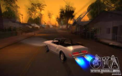 ENBSeries v1.0 por GAZelist para GTA San Andreas séptima pantalla