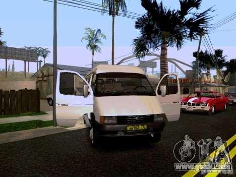 Gacela 32213 1994 para la vista superior GTA San Andreas