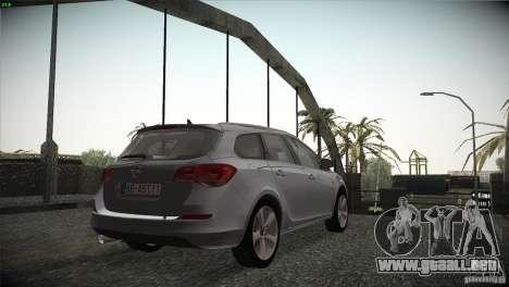 Opel Astra 2010 para la visión correcta GTA San Andreas
