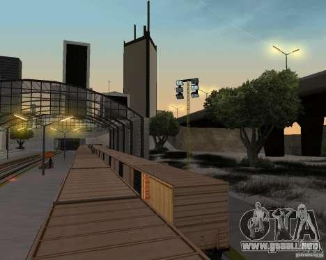 Nueva estación de ferrocarril para GTA San Andreas décimo de pantalla