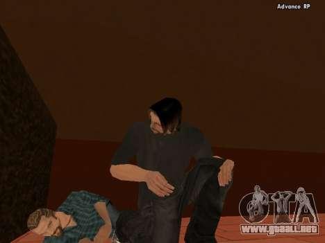 HD pieles personal para GTA San Andreas sucesivamente de pantalla