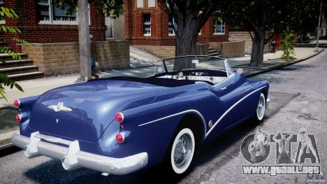 Buick Skylark Convertible 1953 v1.0 para GTA 4 vista desde abajo