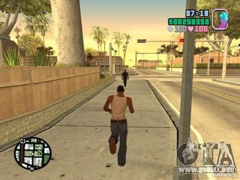 Vice City Hud para GTA San Andreas