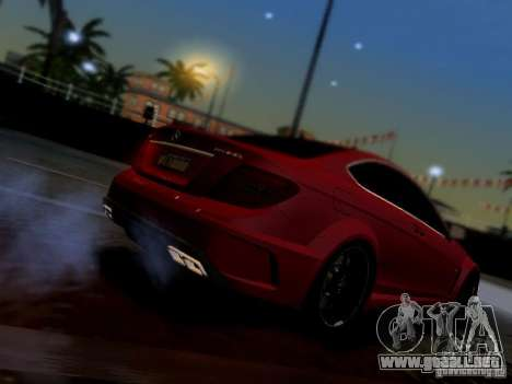 Mercedes Benz C63 AMG C204 Black Series V1.0 para GTA San Andreas left