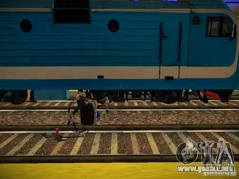 Nuevos carriles para GTA San Andreas quinta pantalla