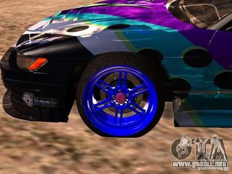 Nissan Sil80 Nate Hamilton para la visión correcta GTA San Andreas