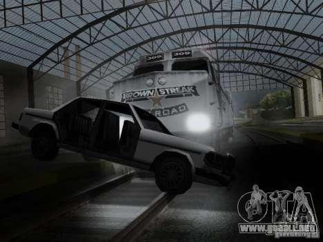 Crazy Trains MOD para GTA San Andreas octavo de pantalla