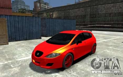 Seat Leon Cupra Light Tuning para GTA 4