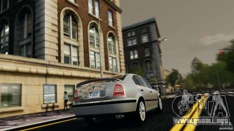 Skoda Octavia v.1.0 para GTA 4 visión correcta