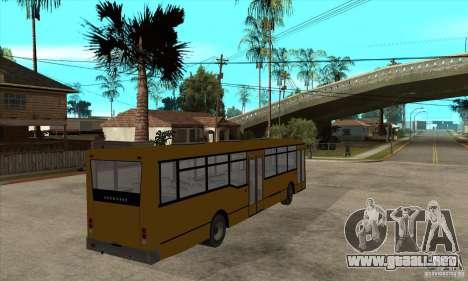 Volzhanin 52702 para la visión correcta GTA San Andreas