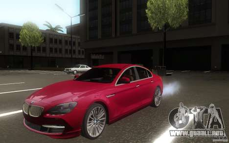 BMW 6 Series Gran Coupe 2013 para GTA San Andreas