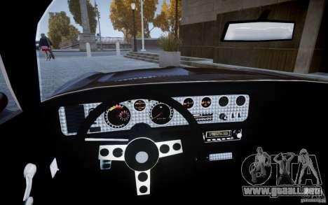 Pontiac Firebird 1971 para GTA 4 visión correcta
