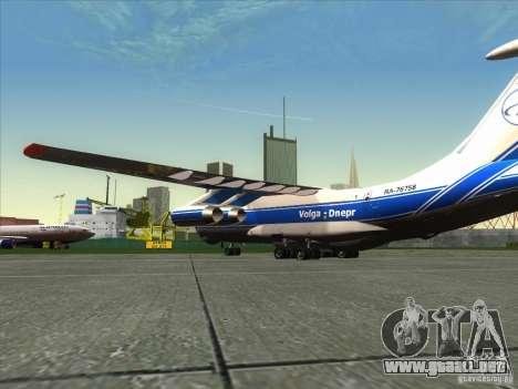 Aeroflot IL de 76 m para GTA San Andreas left
