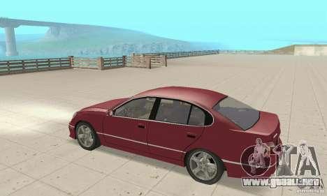 Lexus GS430 1999 para la visión correcta GTA San Andreas