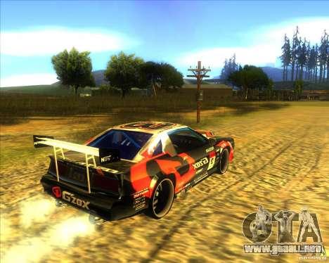 Buffalo D1 para GTA San Andreas vista posterior izquierda