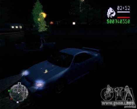 Nuevos gráficos en el juego 2011 para GTA San Andreas tercera pantalla