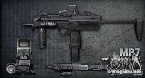 [Point Blank] MP7 para GTA San Andreas
