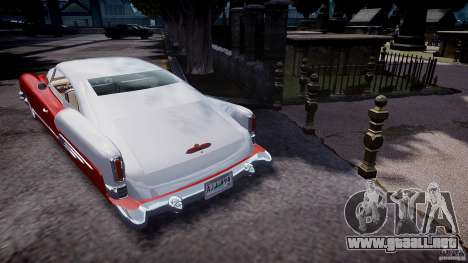Buick Custom Copperhead 1950 para GTA 4 Vista posterior izquierda