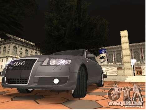 Audi A6 para la visión correcta GTA San Andreas