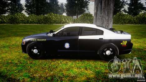 Dodge Charger 2012 Florida Highway Patrol [ELS] para GTA 4 left