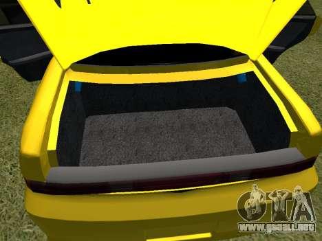 Toyota Mark 2 para la vista superior GTA San Andreas