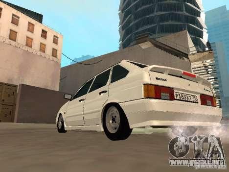 ВАЗ 2114 drenaje para la visión correcta GTA San Andreas
