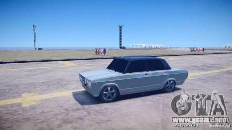 VAZ 2105 v2.0 para GTA 4 Vista posterior izquierda