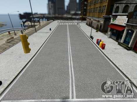 HD Roads 2013 para GTA 4 adelante de pantalla