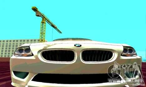 BMW Z4 E85 M para la visión correcta GTA San Andreas