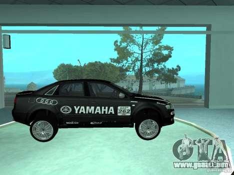 Audi RS4 para GTA San Andreas interior
