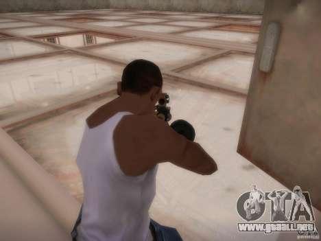 Biblioteca-mapa de Point Blank para GTA San Andreas sucesivamente de pantalla