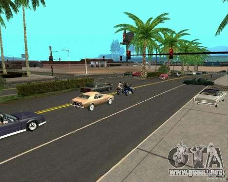 GTA 4 Road Las Venturas para GTA San Andreas segunda pantalla