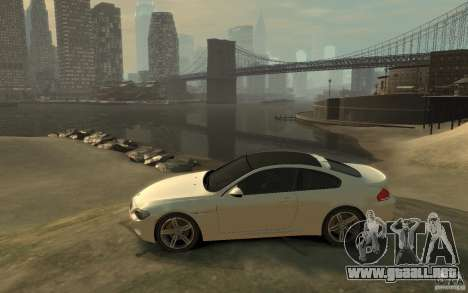 BMW M6 2010 v1.4 para GTA 4 left