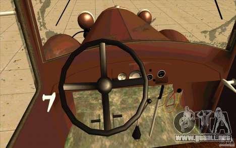 GAZ-AA para la visión correcta GTA San Andreas