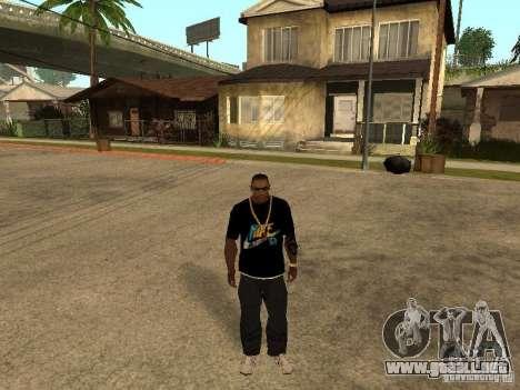 Camiseta Nike para GTA San Andreas segunda pantalla