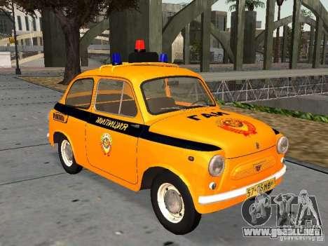 Policía soviética ZAZ-965 para GTA San Andreas